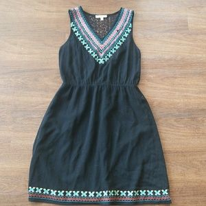 🆕️🛑SALE🛑 Skies are blue embroidered black dress